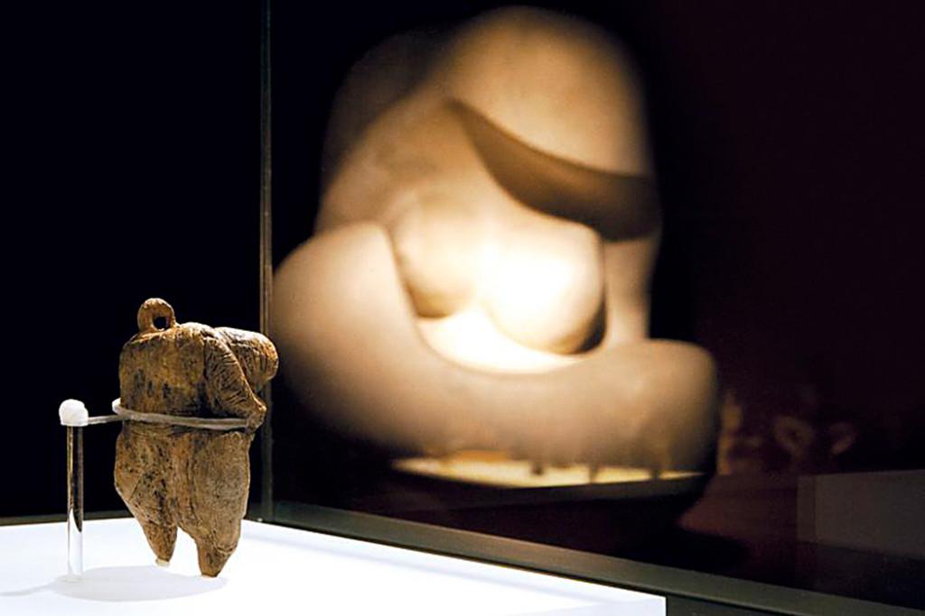 """Die 40 000 Jahre alte """"Venus vom Hohle Fels"""" ist die älteste von Menschenhand geschaffene Figurendarstellung der Welt."""