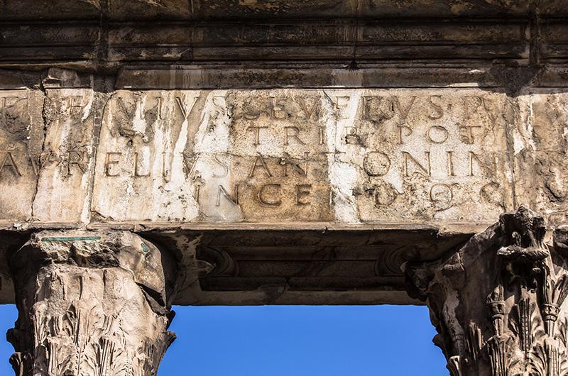 Portikus der Octavia Rom Italien