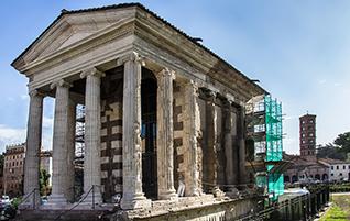 Städtereise Rom: Antike Sehenswürdigkeiten am Tiber-Ufer