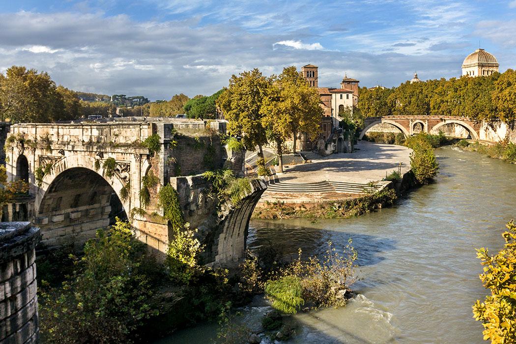 Städtereise Rom: 7 antike Sehenswürdigkeiten am Tiber-Ufer