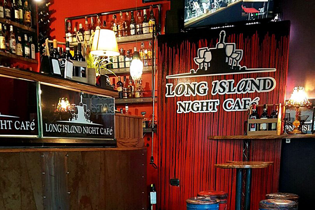 Long Island Night Cafe, Via della Lungharetta, Rome