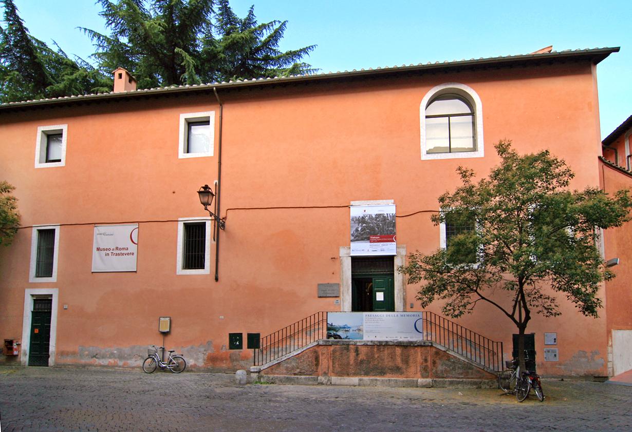 Museo_di_Roma_in_Trastevere-01 - Im Museo di Roma in Trastevere an der Piazza San Egidio wird das Alltagsleben der Römer im 18. und 19. Jhd. gezeigt.