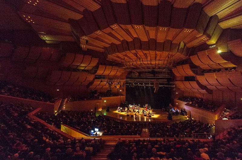 Die Philharmonie im Münchner Gasteig war für das Farantouri-Dalaras Konzert ausgebucht.
