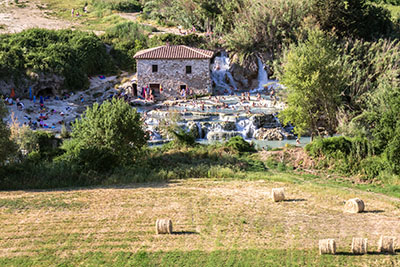 saturnia therme Cascate del Mulino toskana italien