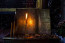 salvatorkirche münchen kerze ikone weihnachten