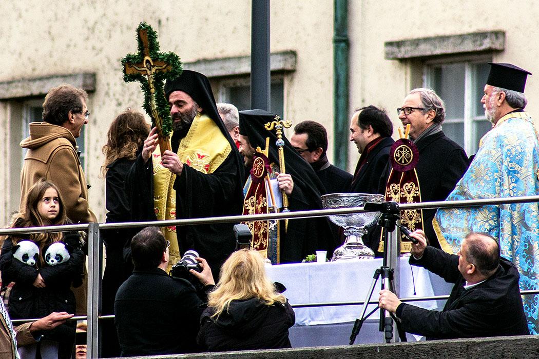 Epiphanias in München, Weihbischof der Griechisch-Orthodoxen Metropolie, Bartholomaios von Arianz
