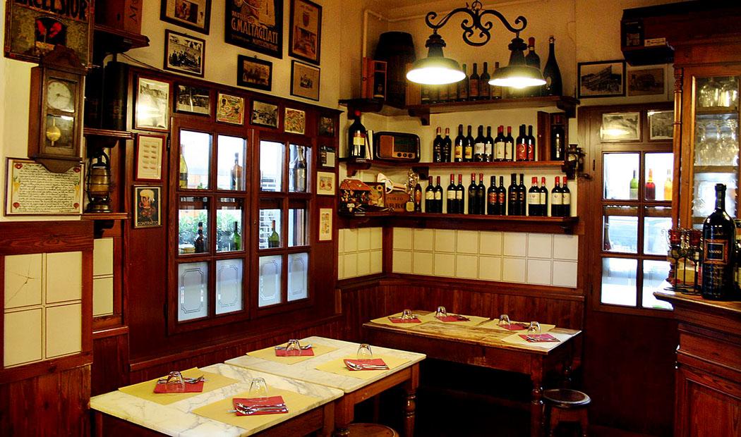 florenz - sehenswürdigkeiten | Die Osteria Antica Mescita San Niccolo serviert beste toskanische Küche, zu vernünftigen Preisen.
