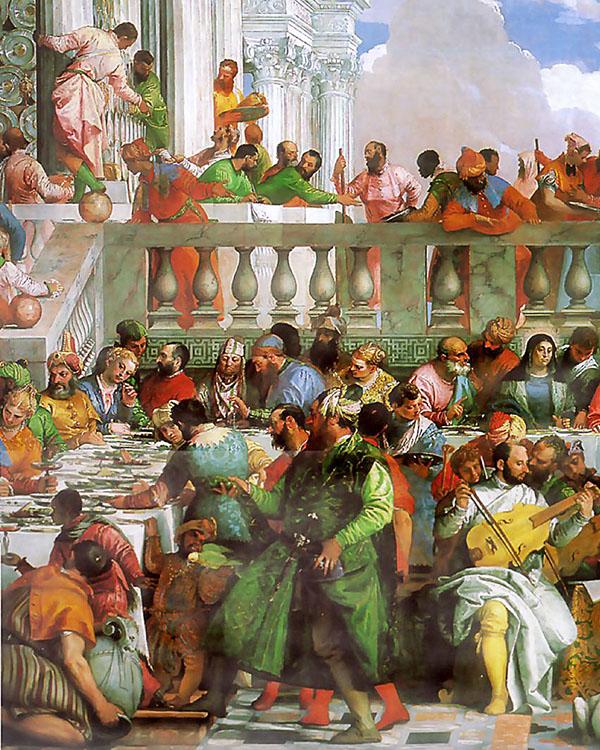 Veronese Hochzeit zu Kana 1563 Foto: Wikipedia