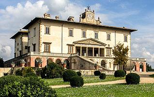 Umgebung von Florenz: Die Villa Medici in Poggio a Caiano und ihr Geheimnis