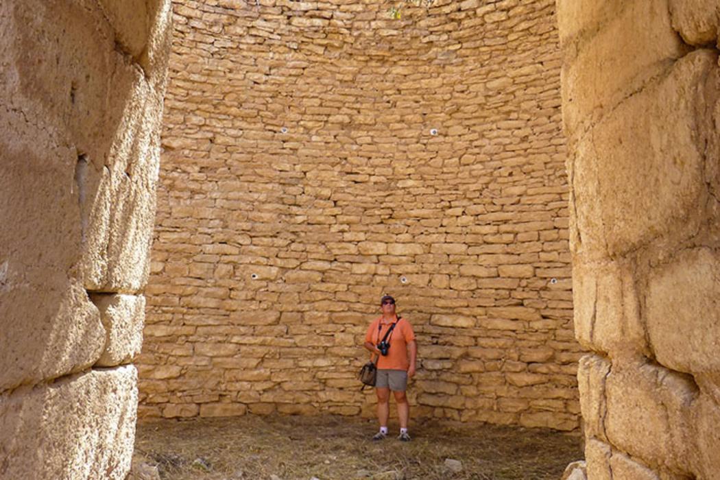 Panagia-Grab: Auch wenn die Kuppel eingestürzt ist, dieses Bauwerk lehrt Demut.