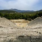 epidauros theatre asklepios sanctuary argolis peloponnese greece