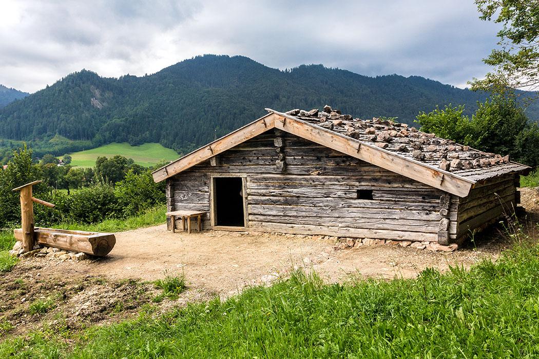 Der Wahlkaser ist ein Käsealm von der Gotzenalm im Berchtesgadener Land und erst seit 2015 im Bauernhofmuseum.