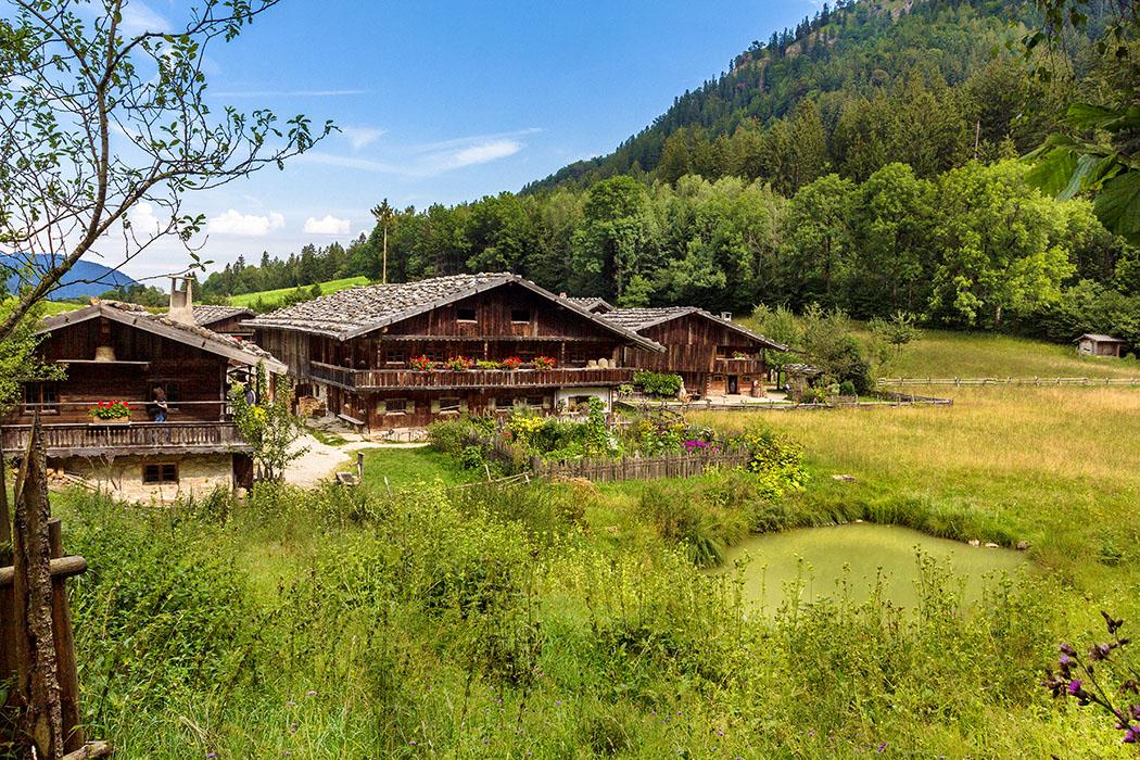 Ausflug in das Bauernhofmuseum von Markus Wasmeier in Schliersee