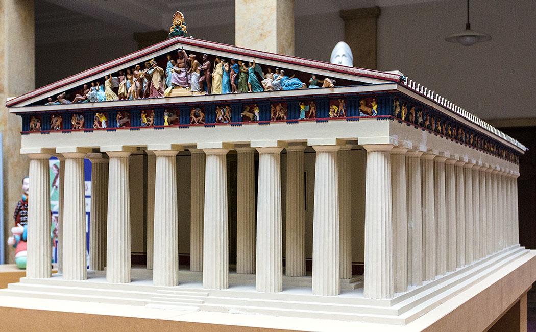 Kulturtrip in München: 15 Sehenswürdigkeiten wie in Griechenland - museum-fuer-abguesse-klassischer-bildwerke-parthenon-modell