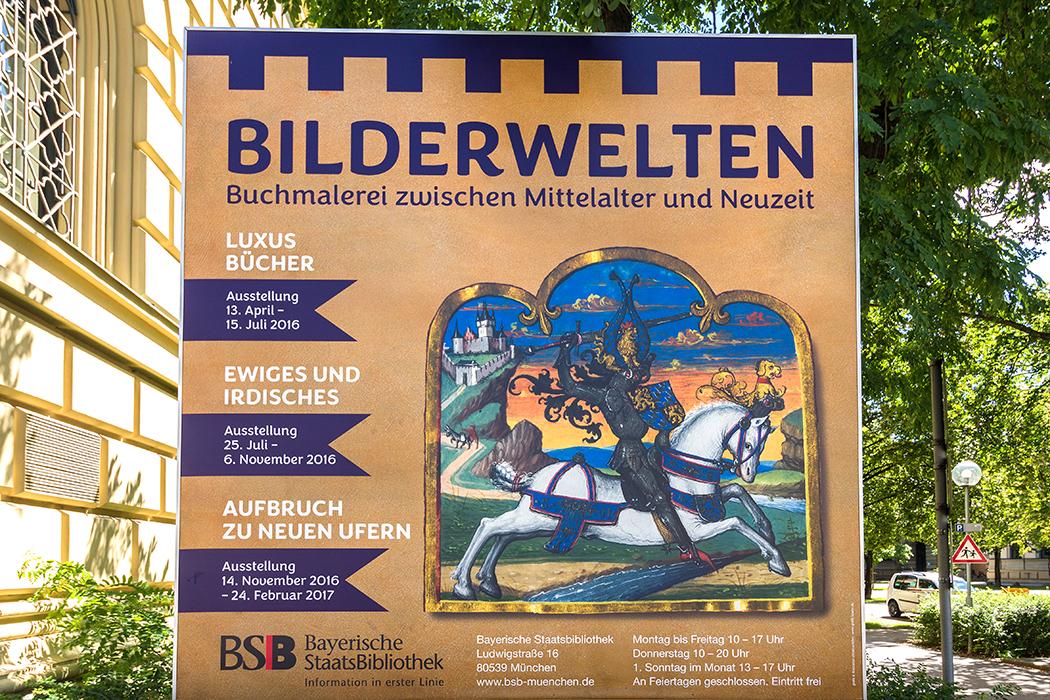 bayerische staatbibliothek sonderausstellung bilderwelten