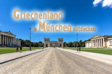 koenigsplatz muenchen munich glyptothek propylaen antikensammlung munich bavaria germany titel text