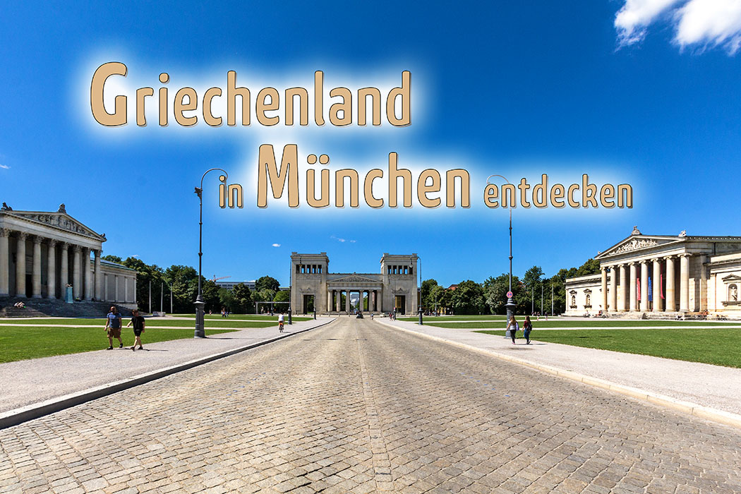 Unsere 25 schönsten Ausflugsziele in München und Bayern koenigsplatz muenchen munich glyptothek propylaen antikensammlung munich bavaria germany titel text