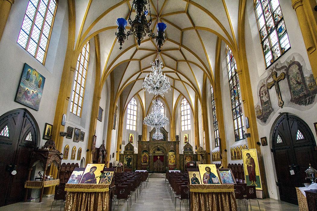 munich stsalvator muenchen salvatorkirche salvatorplatz bavaria germany Ein Lieblingsplatz in München: Die Salvatorkirche, die drittälteste der Stadt. St. Salvator ist ein Kleinod im Herzen der Stadt, durch eine Verfügung von König Ludwig I. wurde 1828 sie den griechisch-orthodoxen Christen überlassen.