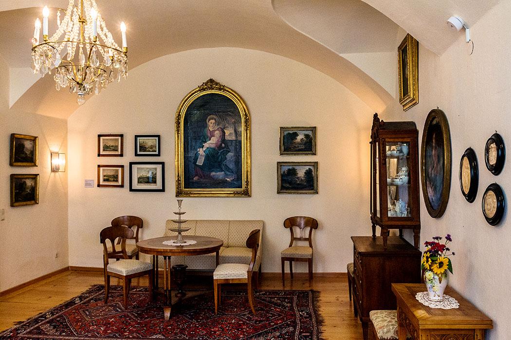 kloster-beuerberg-empfangsraum-eurasburg-wolfratshausen-bayern Im gemütlich eingerichteten Empfangsraum konnten Angehörige die Schwestern besuchen.