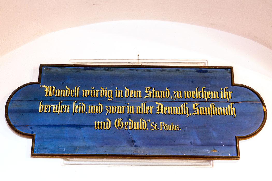"""""""Wandelt würdig in dem Stand, zu welchem ihr berufen seid, und zwar in aller Demuth, Sanftmuth und Geduld."""" so empfielt es der Heilige Paulus."""