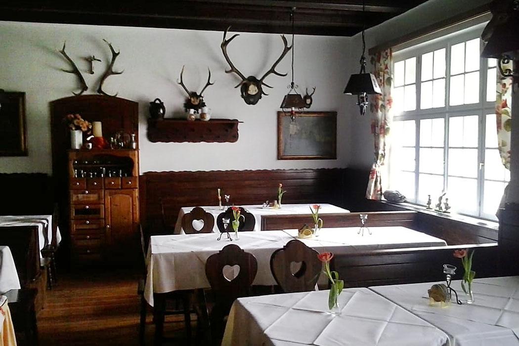 Gemütlich und nostalgisch: Das Jägerstüberl im Aggsteinerhof.