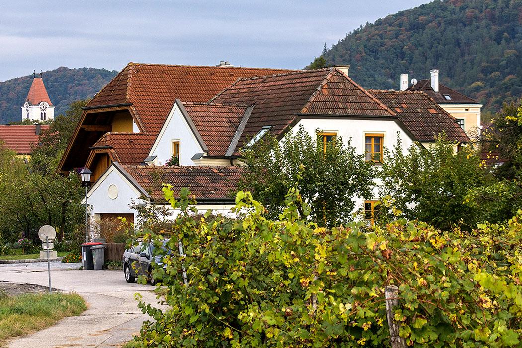 Unsere Unterkunft in Rossatz war eine gemütliche und empfehlenswerte Ferienwohnung im Haus Annemarie, bei Annemarie und Karl Baumgartner.