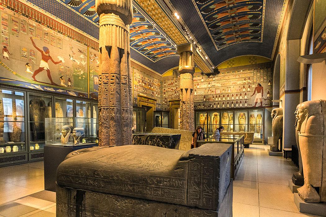 wien kunsthistoisches museum maria theresien platz aegyptisch-orientalische Sammlung oesterreich vienna austria