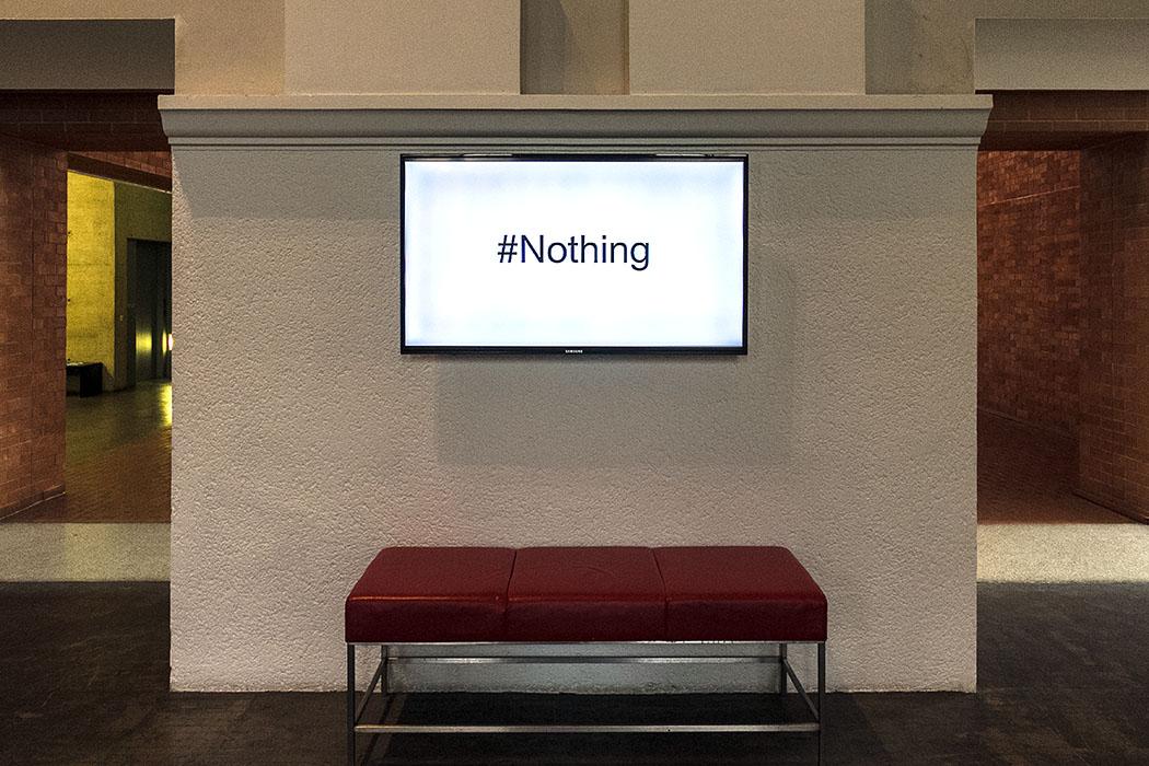 """wien museumsquartier kunst nothing Im MuseumsQuartier besuchten wir die Ausstellung """"Neue Wege nichts zu tun"""" die von Juni bis Oktober 2014 in der Kunsthalle zu sehen war."""