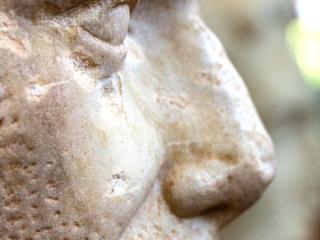 Portrait von Gaius Iulius Caesar. Datierung: 1. Jhd. n. Chr.