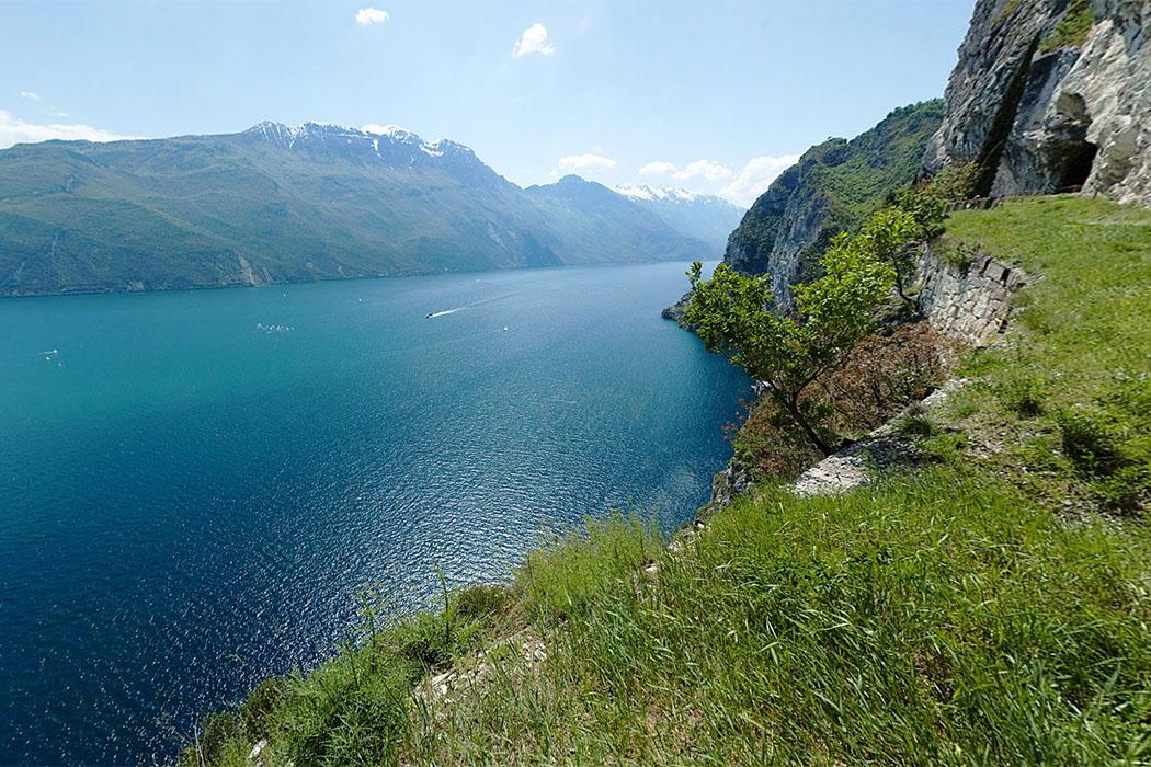 Garda Trentino: Panorama-Wanderung an der Ponale-Straße bei Riva del Garda