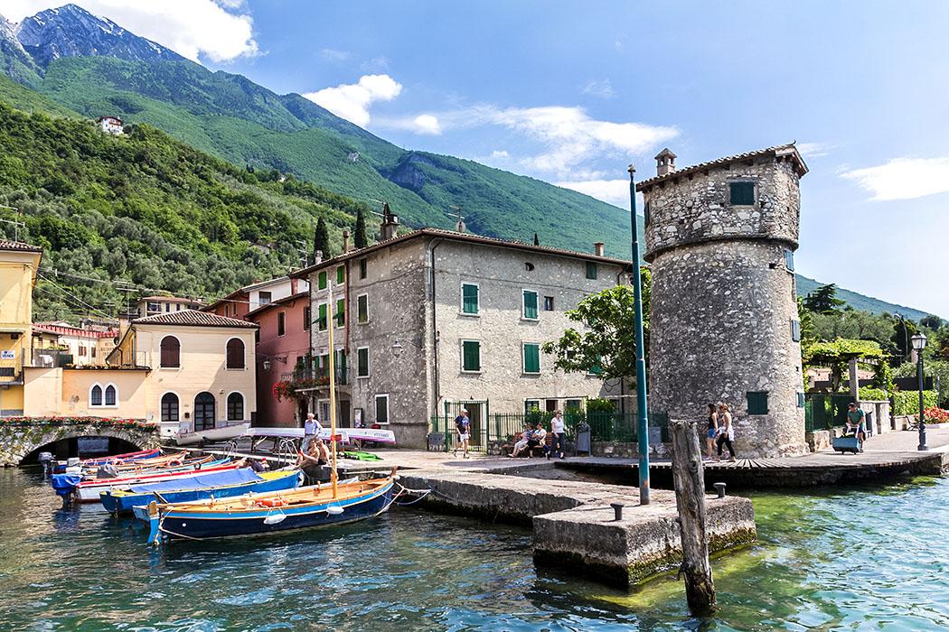 Gardasee: Cassone di Malcesine am Ostufer - Ruhig, ursprünglich & schöner Badestrand