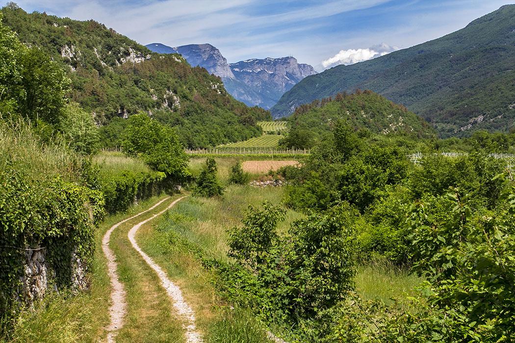 Garda Trentino: Archäologische Wanderung an der Römerstraße im Tal von Cavedine
