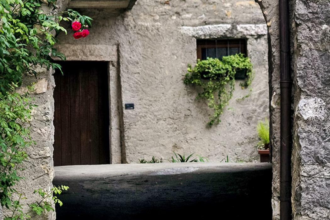 Liebhaber mittelalterlicher Architektur kommen im Borgo auf ihre Kosten.