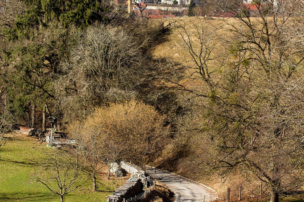Die Gemeinde Pähl erstreckt sich vom Westhang einer Moränenlandschaft bis zum Südende des Ammersees. Hügelgräber im Ortsbereich deuten auf Besiedelung bereits in der Bronzezeit.