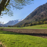 Deutschland, Oberbayern, Berchtesgadener Land, Rupertiwinkl, Piding, Urwies, Schloss Staufeneck