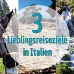 reise-zikaden.de, Monika Hoffmann, Drei Lieblingsreiseziele in Italien, Blogparade, Impruneta, Insel Mozia, Saturnia.