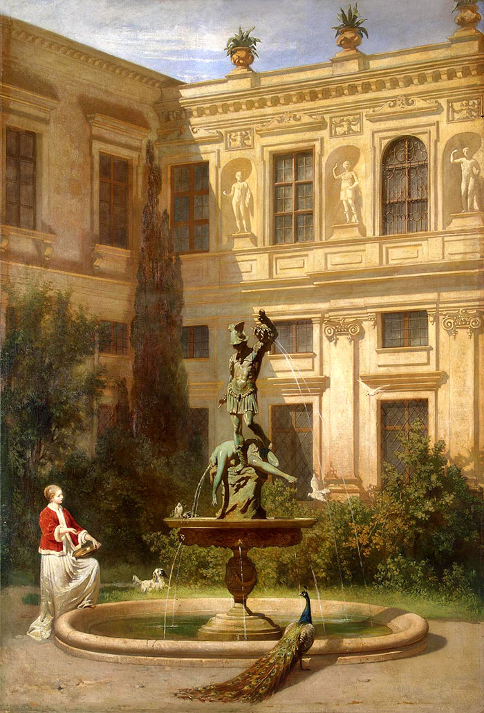 Grottenhof_Residenz_Perseus_Brunnen_Hans_von_Marées_ol