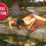 Echo and Narcissus, John William Waterhouse (1849–1917), Öl auf Leinwand, 1903, Walker Art Gallery London