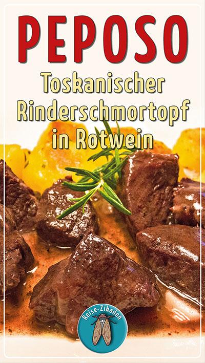 Peposo - Toskanischer Rinderschmortopf in Rotwein-ol