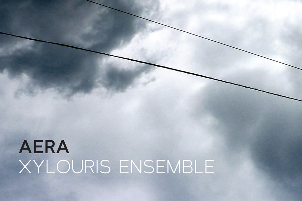 Xylouris Ensemble, Aera Das Cover der Musik-CD Xylouris Ensemble - Aera (2014).
