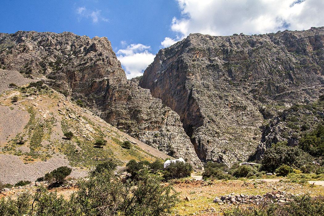 Ostkreta: Cha-Schlucht – Einer der großen tektonischen Brüche Europas