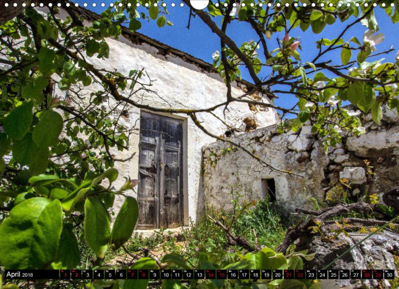 Fotokalender: Ostkreta - Zwischen Sitia und Ierapetra - Ziros: Altes kretisches Haus. Das Dorf liegt am östlichen Rand der Hochebene von Chandras