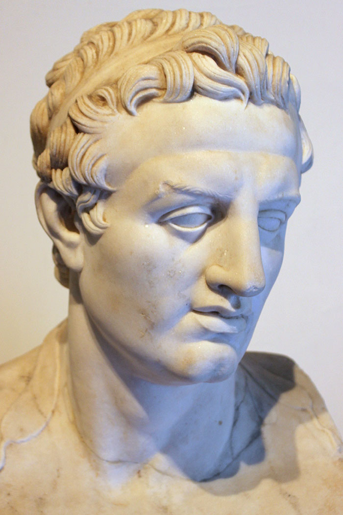 Ptolemaeus III. - Ptolemaios III. Euergetes I., 284 - 222 v. Chr. aus der Dynastie der Ptolemäer war von 246 v. Chr. bis 222 v. Chr. Pharao (König) von Ägypten. Foto: Wikipedia, Miguel Hermoso Cuesta