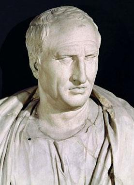 Zitate aus der Antike: Pro domo - Für das eigene Haus - Marcus Tullius Cicero, Kapitolinisches Museum, Wikipedia Augurmm_ol - Marcus Tullius Cicero, (106 - 43 v. Chr.), war ein römischer Politiker, Anwalt, Schriftsteller, Philosoph und Konsul. Foto: Wikipedia, Augurmm