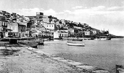 crete_siteia_harbour_20thcentury - Der Hafen von Sitia im 20. Jahrhundert. Foto: www.sitia.gr