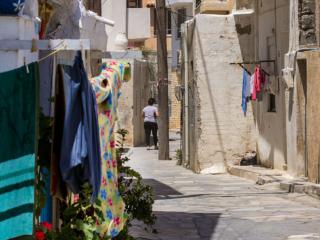 Die Altstadt von Ierapetra ist eine kretische Mischung aus alter und neuer Bausubstanz.