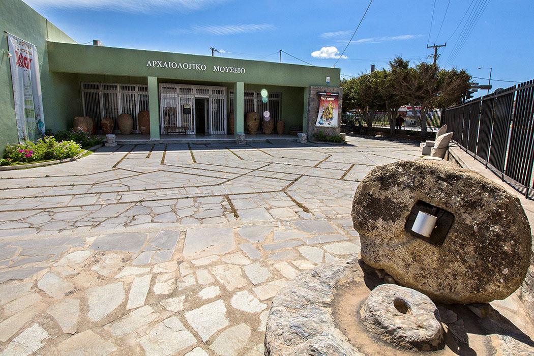 Im Archäologischen Museum von Sitia werden Funde aus ganz Ostkreta vom Neolithikum bis in die römische Epoche gezeigt.