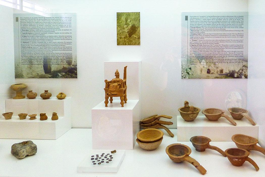 reise-zikaden.de, greece, griechenland, crete, kreta, lasithi, sitia museum, praisos, discoveries