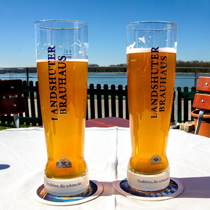 echinger staustee_Gasthaus Forster am See_weissbier