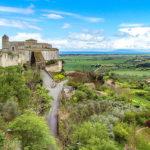 Italy, Lazio, Tarquinia, Santa Maria di Castello